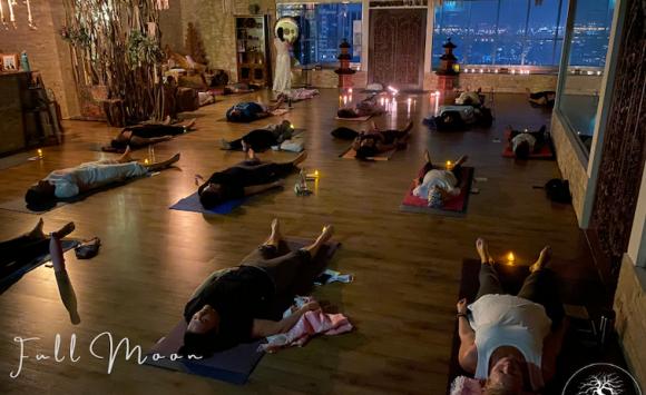 Full Moon Kundalini and Candlelight Meditation