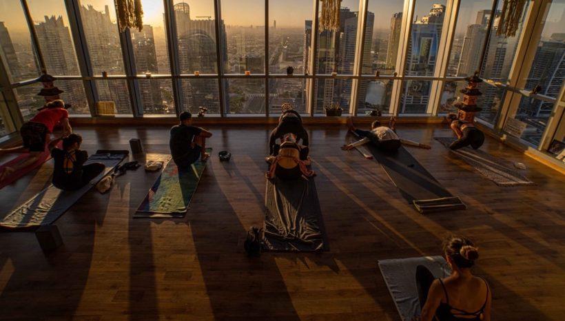 teach yoga dubai
